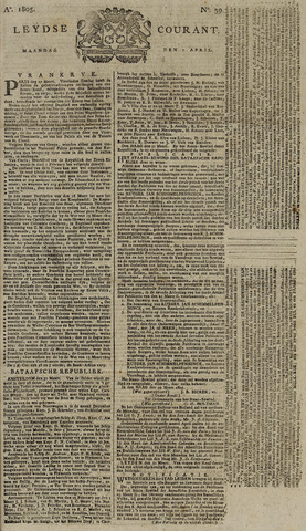 Leydse Courant 1805-04-01