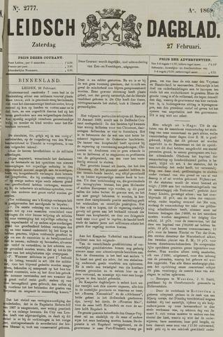 Leidsch Dagblad 1869-02-27