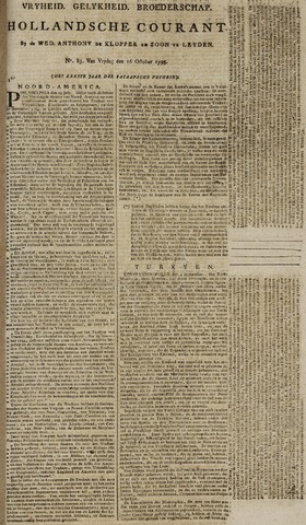 Leydse Courant 1795-10-16