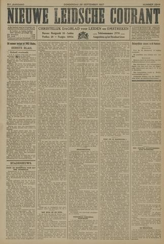 Nieuwe Leidsche Courant 1927-09-29