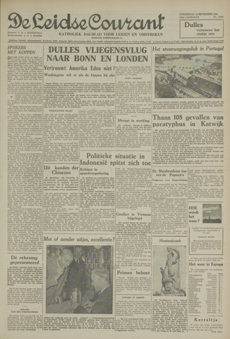 Leidse Courant 1954-09-16