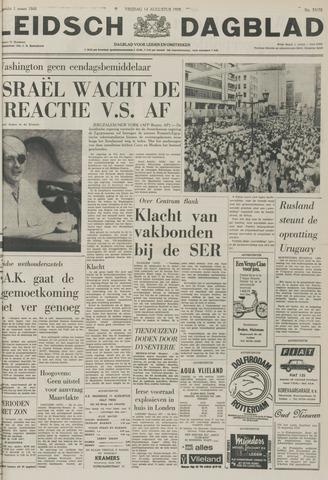 Leidsch Dagblad 1970-08-14