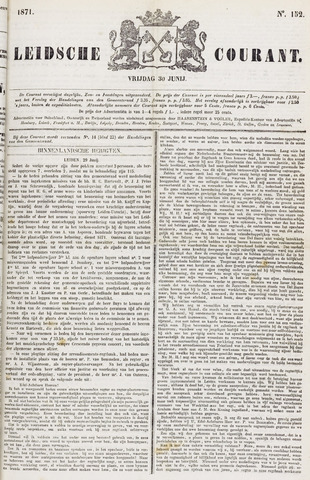 Leydse Courant 1871-06-30