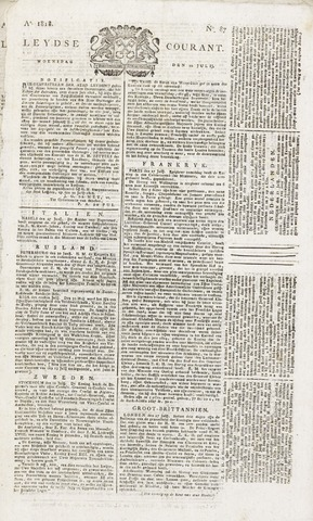 Leydse Courant 1818-07-22