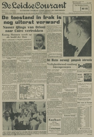 Leidse Courant 1958-07-15