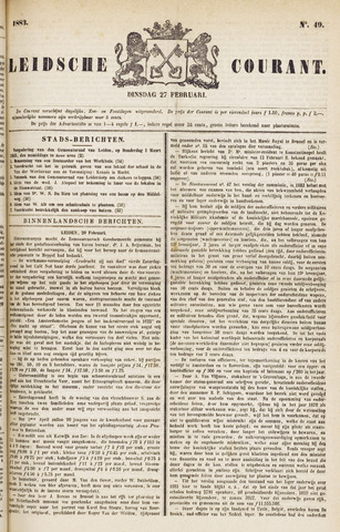 Leydse Courant 1883-02-27