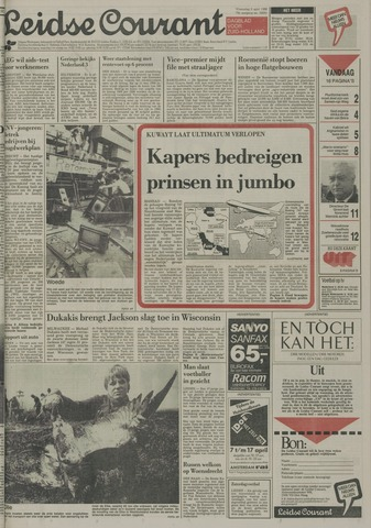 Leidse Courant 1988-04-06