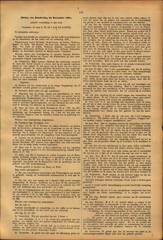 Handelingen van de Raad 1891-12-24