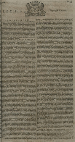 Leydse Courant 1726-09-27