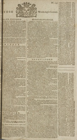 Leydse Courant 1772-11-25