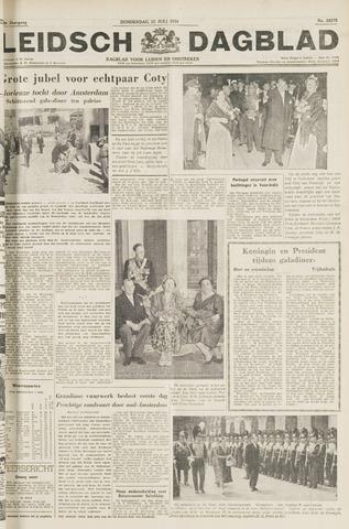 Leidsch Dagblad 1954-07-22