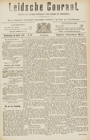 Leydse Courant 1889-04-25