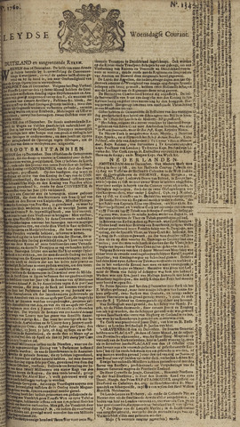 Leydse Courant 1760-12-24