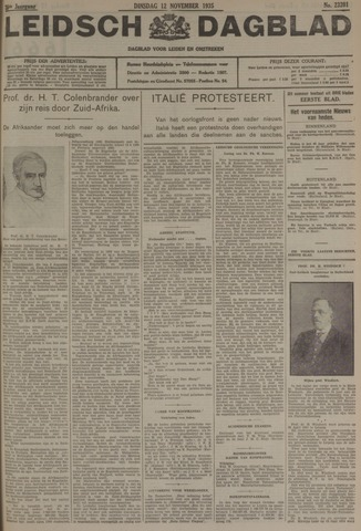 Leidsch Dagblad 1935-11-12