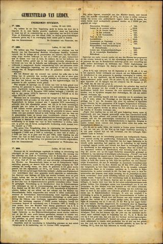 Handelingen van de Raad 1881-07-28
