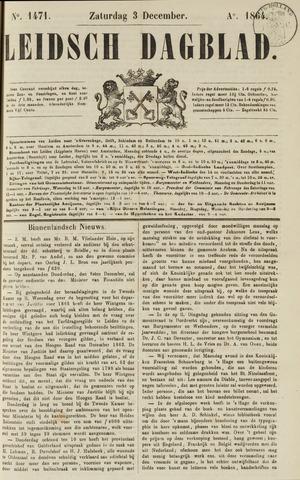 Leidsch Dagblad 1864-12-03