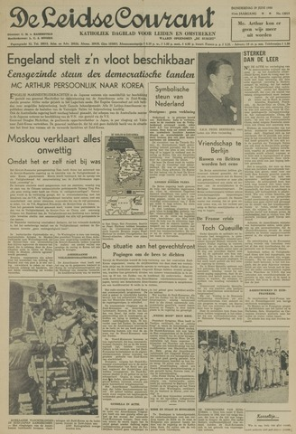 Leidse Courant 1950-06-29