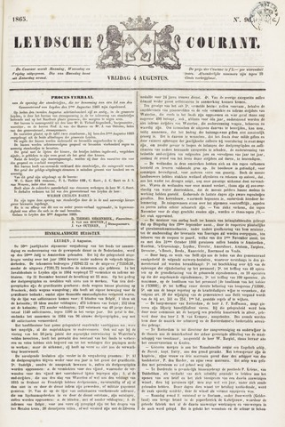 Leydse Courant 1865-08-04