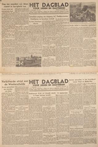 Dagblad voor Leiden en Omstreken 1944-10-10