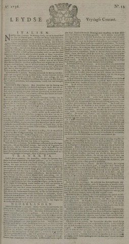 Leydse Courant 1736-01-27