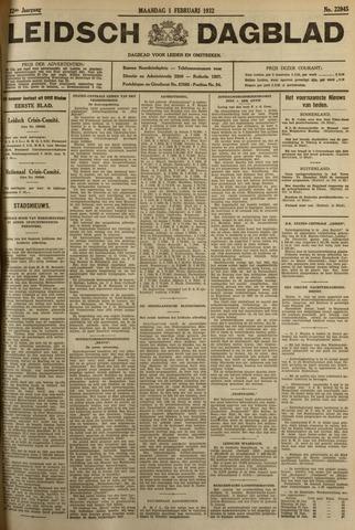 Leidsch Dagblad 1932-02-01