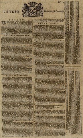 Leydse Courant 1777-01-22
