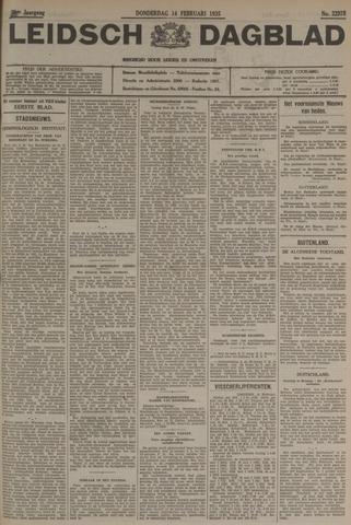 Leidsch Dagblad 1935-02-14