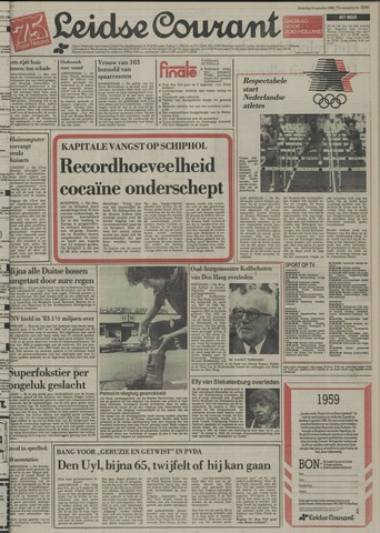 Leidse Courant 1984-08-04