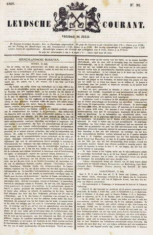 Leydse Courant 1869-07-16