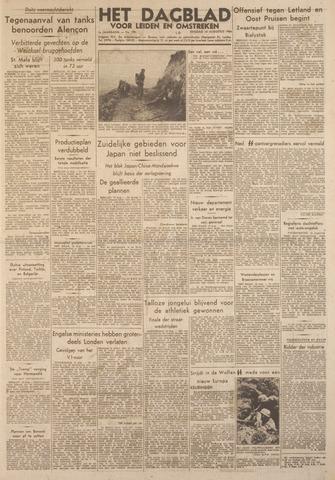Dagblad voor Leiden en Omstreken 1944-08-15