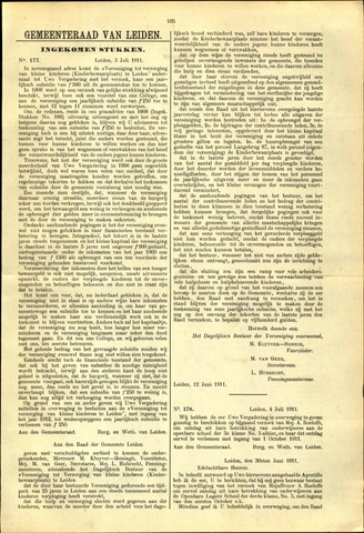 Handelingen van de Raad 1911-07-03