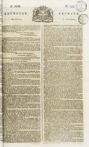 Leydse Courant 1843-10-30