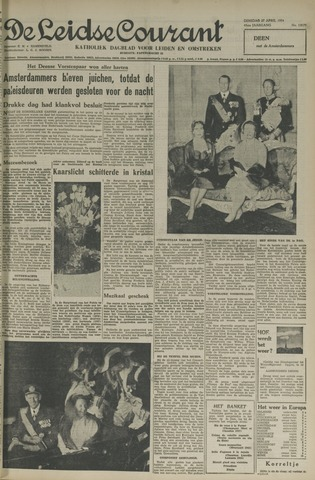 Leidse Courant 1954-04-27