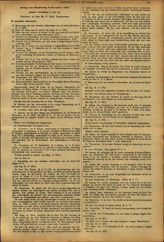 Handelingen van de Raad 1894-11-08