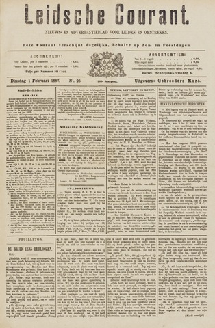Leydse Courant 1887-02-01
