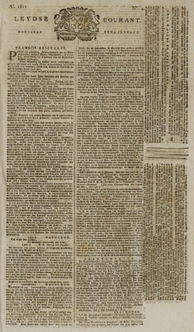 Leydse Courant 1811-01-09