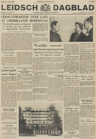 Leidsch Dagblad 1961-03-22