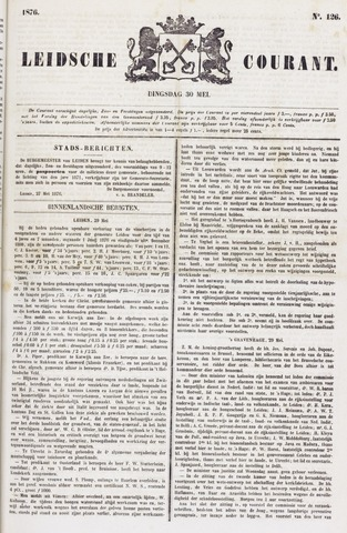 Leydse Courant 1876-05-30