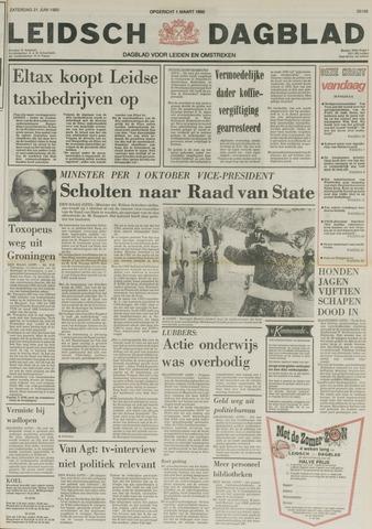 Leidsch Dagblad 1980-06-21