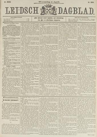 Leidsch Dagblad 1894-04-04