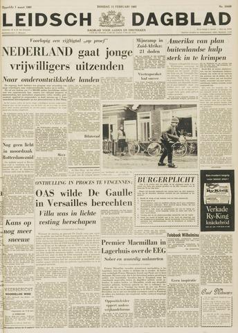 Leidsch Dagblad 1963-02-12