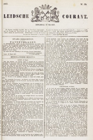 Leydse Courant 1877-03-27