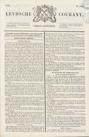 Leydse Courant 1852-12-24