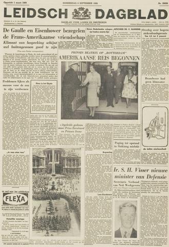 Leidsch Dagblad 1959-09-03