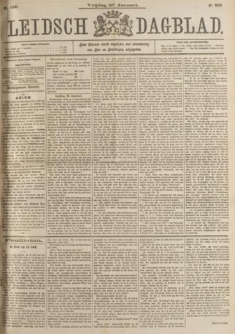 Leidsch Dagblad 1899-01-27