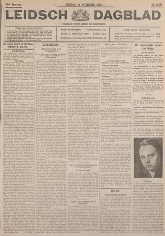 Leidsch Dagblad 1930-11-14