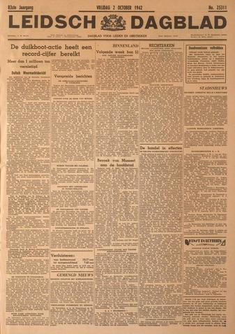 Leidsch Dagblad 1942-10-02