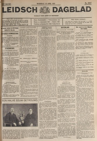 Leidsch Dagblad 1933-04-19