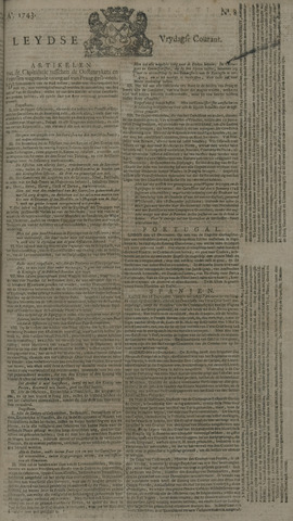Leydse Courant 1743-01-18