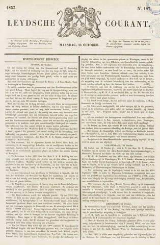 Leydse Courant 1853-10-24